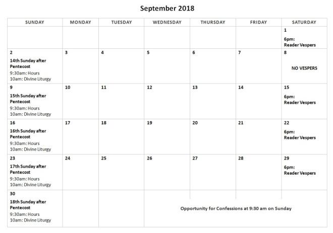 September 2018