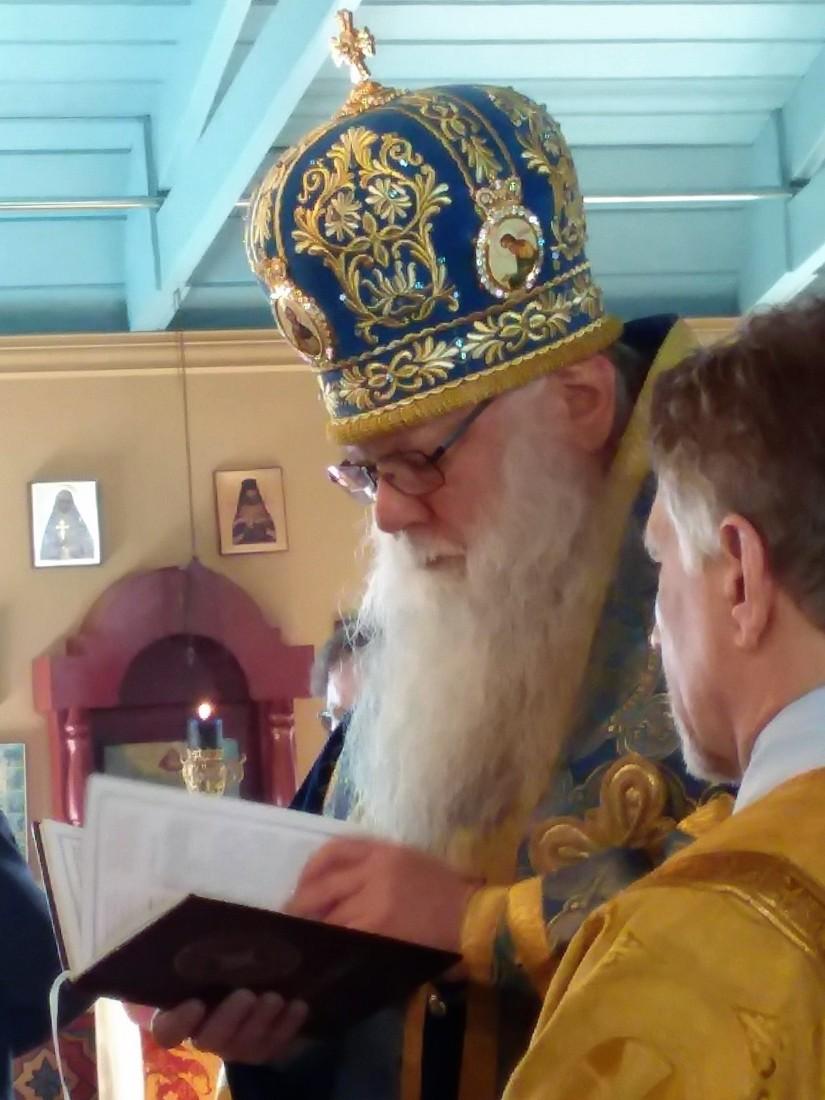 Archbishop Peter at Saint Innocent Parish on April13