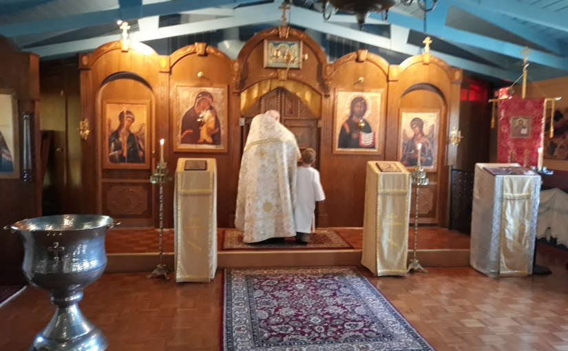 Anthony's Baptism