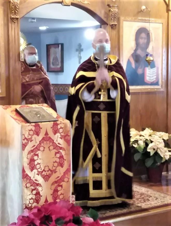 Fr Jeremiahs blessing