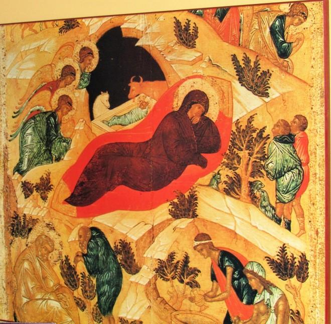 Nativity wall icon