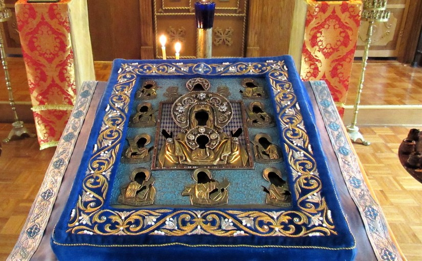 Visit of the Kursk Root Icon